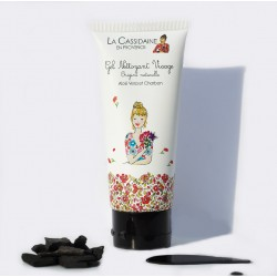 Charcoal and Aloe Vera Facial Cleanser