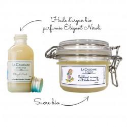 Kit DIY Exfoliant Sucre - Parfum Néroli