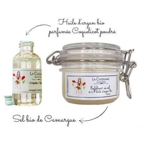 Kit DIY Exfoliant Sel - Parfum Néroli